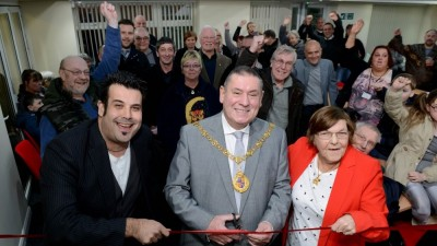 Community Room Opened by Walsall Mayor
